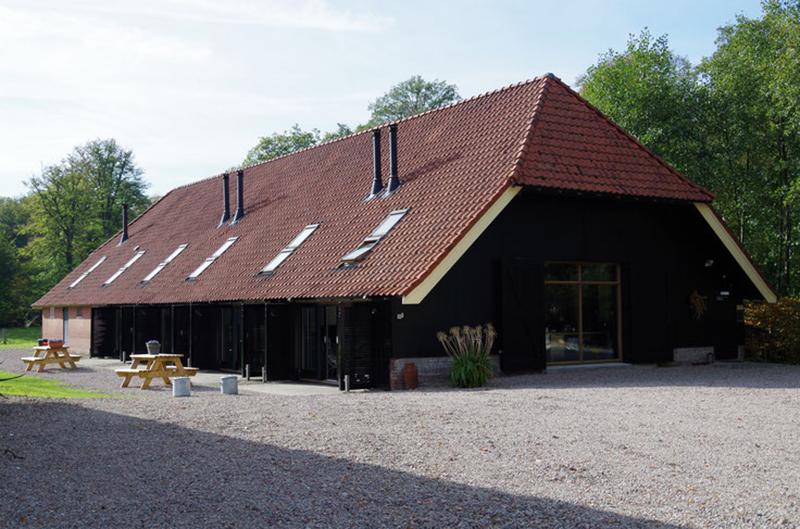 De groepsaccommodatie in Delden in Twente.
